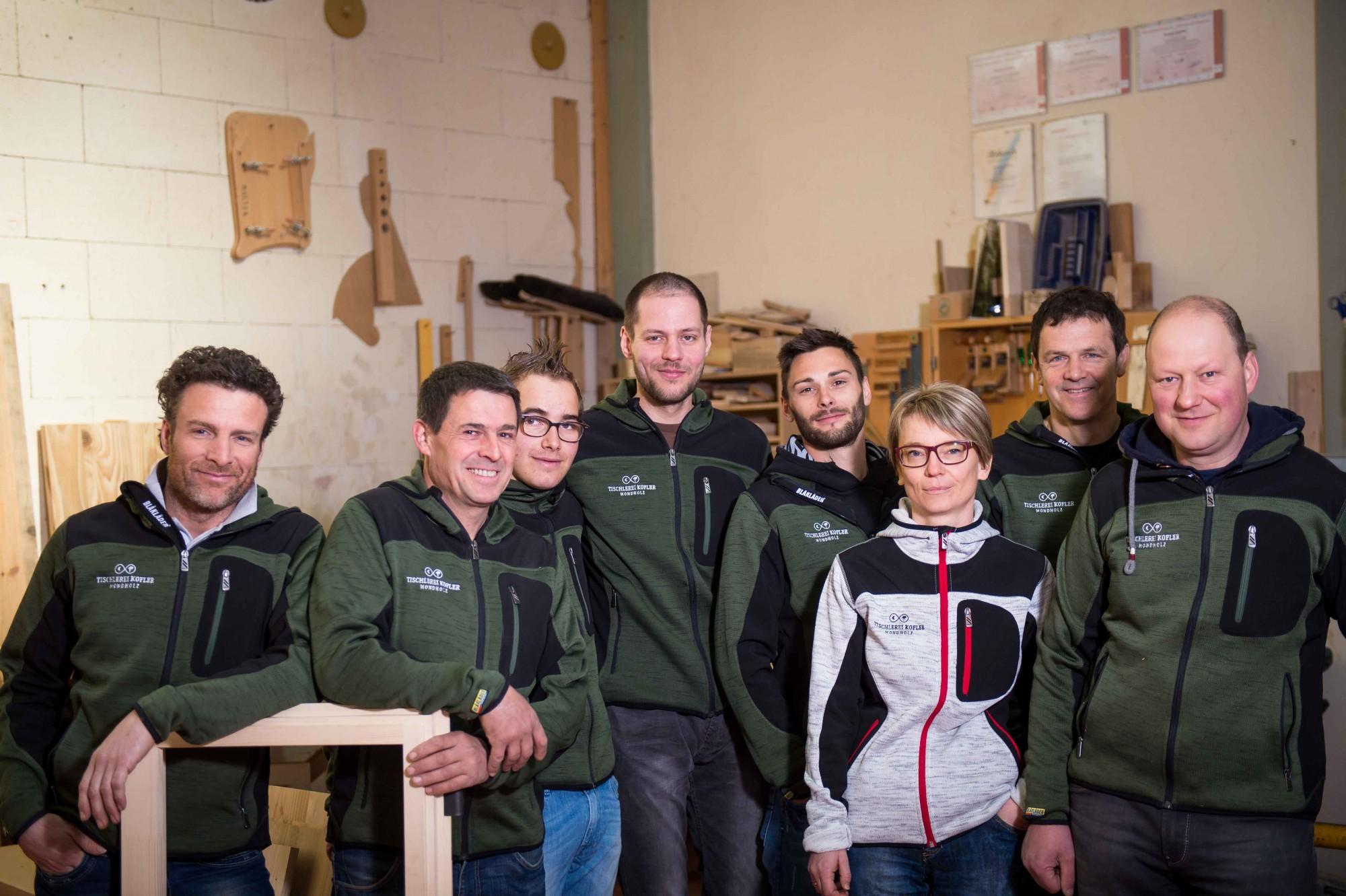 Tischlerei Kofler Team